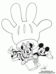 mickey mouse train coloring coloring
