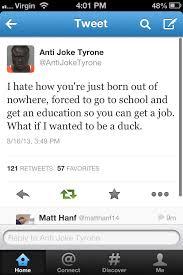 Anti Joke Meme - anti joke tyrone meme by pooter13 memedroid