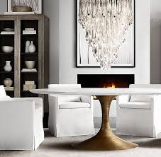 best 25 oval dining tables ideas on pinterest oval kitchen