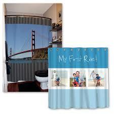 photo shower curtain custom shower curtain mailpix