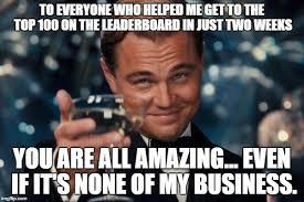 Top 100 Internet Meme - leonardo dicaprio cheers meme imgflip
