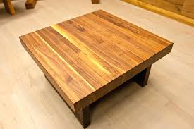 Big Square Coffee Table by Coffee Tables Beautiful Wood Table For Tremendous Large Square