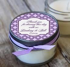 candle favors 12 4 oz wedding favor lavender wedding favor soy candle favor