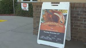 restaurants are available as a thanksgiving option