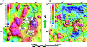 Utep Map Integrated Geophysical Studies Of The Basement Structures The