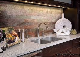Slate Backsplash In Kitchen by 36 Best Tumbled Kitchen Backsplash Tiles Images On Pinterest