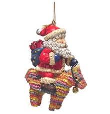 kurt adler ornaments santa pinata ornament from enesco