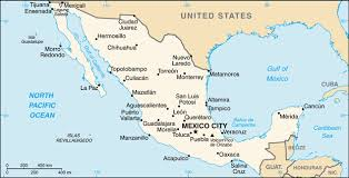 the united states of america and neighbouring countries map mexico facts and figures