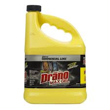 Clogged Kitchen Sink Garbage Disposal by Drano 1 Gal Max Gel Clog Remover 024109 The Home Depot