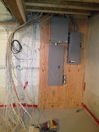 electrical rough in building our dream home