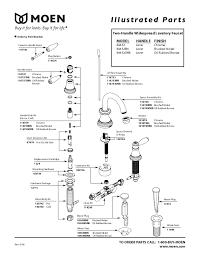 moen bathroom sink faucet parts sink ideas