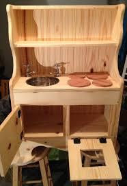 childrens wooden kitchen furniture handmade wooden kid s children s sink range stove oven cupboard