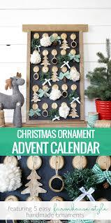 remodelaholic rustic farmhouse ornament advent calendar
