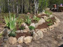 Rocks For Garden Edging Bush Rock Garden Edging Hawe Park