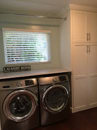 Ikea Cabinets Laundry Room by Laundry Room Ikea Countertop On Front Load Samsung Washer And
