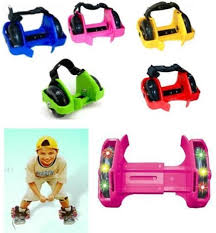 heelys light up shoes other toys light up small whirlwind heelys strap on roller shoes