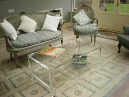 coffee tables astonishing acrylic and glass coffee table
