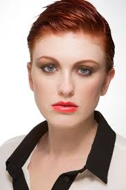 butch pixie haircut virginia petrucci model redhead short hair pixie pixie cut