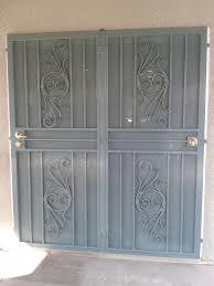 sliding glass door protection patio doors condoor security wrought iron works