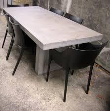 kitchen fabulous concrete bedside table concrete and wood