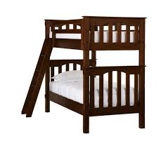 Kids Twin Bed Kendall Twin Over Twin Bunk Bed Simply White Pottery Barn Kids