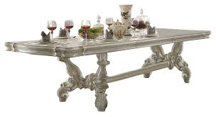 dining room sets 9 piece versailles bone white finish 120