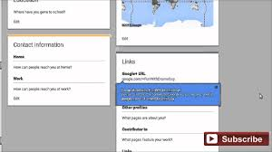 What Is Vanity Url How To Setup Custom Url For Google Plus Business Page Youtube