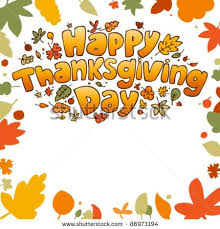 happy thanksgiving day animated graphic