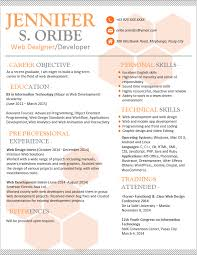 Professional Resume Examples The Best Resume by Resume Templates You Can Download Jobstreet Philippines