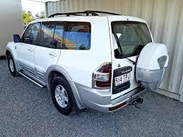 white mitsubishi sports car automatic mitsubishi pajero exceed 2000 white used vehicle sales