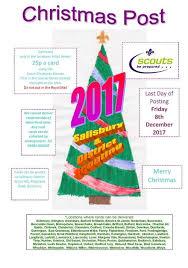 christmas post salisbury u0026amp s wilts district scouts