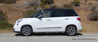 review 2014 fiat 500l with video the truth about cars