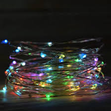 led fairy string lights 100 rgb multi color led fairy wire waterproof string lights 33ft