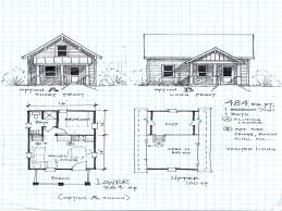 2 Bedroom Cabin Floor Plans by Floor Antique Plan Cabin With Loft Floor Plans Cabin With Loft