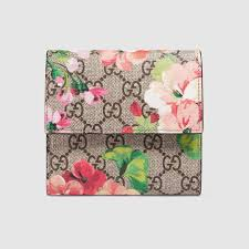 bloom wallet gg blooms flap wallet gucci women s wallets small