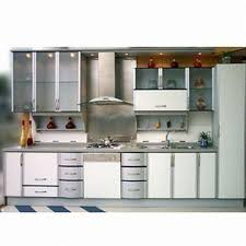 Sky Kitchen Cabinets Laminated Panel Kitchen Cabinet Doors With Aluminum Plastic Frame