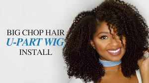 corkscrew hair how to install a u part wig ft big chop hair corkscrew curl