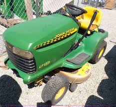 john deere lt133 lawn mower item bg9290 sold september