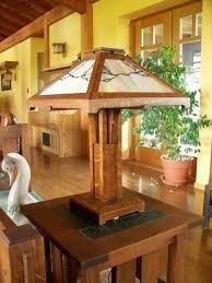 Arts And Crafts Desk Lamp Greene And Greene Arts And Crafts Style Hand Crafted Table Lamps