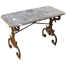 Wrought Iron Bistro Table 19th Century Cast Iron Bistro Table At 1stdibs