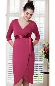 tulip maternity dress raspberry crush maternity wedding