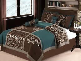 Green King Size Comforter Brown Green King Bedding Cynthia Rowley King Paisley Aqua Lime