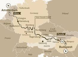 Passau Germany Map by Jewels Of Europe River Cruises Europe