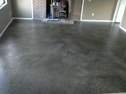 after paint job primed with lowes gray floor and concrete glazed 3