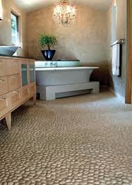 best 25 river rock floor ideas on wood tile shower