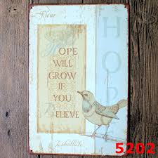Home Decor Signs And Plaques by Online Get Cheap Metal Sign Poem Aliexpress Com Alibaba Group