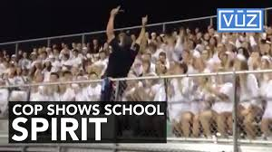 spirit halloween hourly pay cheerleading cop goes viral at a high football game