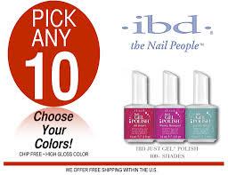 ibd just gel pick any 10 colors u2013 salonsupplyplus