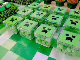 minecraft party favors 20 kids minecraft party ideas minecraft party ideas birthdays and