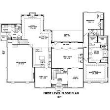 French Cottage Floor Plans French House Plan 5 Bedrms 4 5 Baths 4981 Sq Ft 170 1573